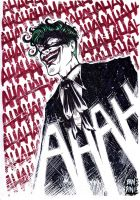Joker warm-up by michelebandini