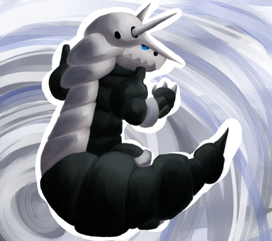 Aggron by Chicorii