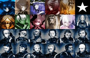 BRS THE GAME ICONS by 98Nekuro