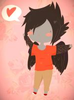 .: Kawaii FanArt for Ask-RayTheRaven :. by LittleMissZKits