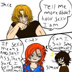 Mortal Instruments mini  comic strip by OHagan