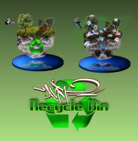 AKR Recycle bin by Ornorm