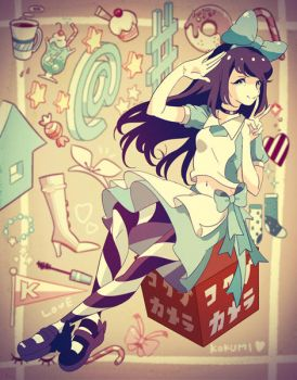 Alice in twitterland by chamooi
