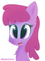 Berry Punch Headshot by TheOtherDash