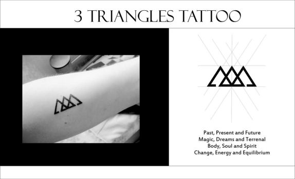Triangles Tattoo by amadis33