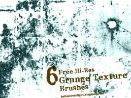 Free Brush Set 03: Grunge Texture Brushes by tau-kast