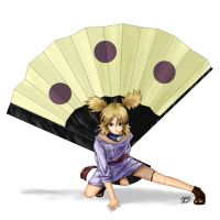 Temari of the Sand by RubberDuki