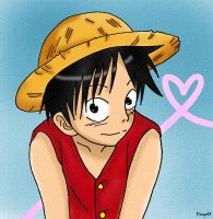 Luffy by Aka-Dingo93