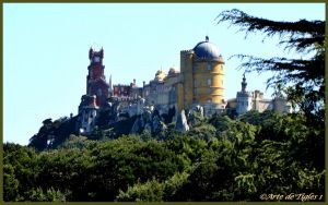 PENA PALACE, SINTRA, PORTUGAL by Tigles1Artistry