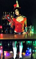 Mad Moxxi's Bar. by AngelosAtelier