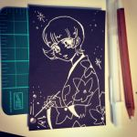 #04 1920s vintage girl anime study WITH MATERIALS by kawaiidchan