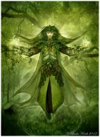 The Forest Father by Isriana