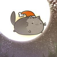 Xmas Cat by Willow-San