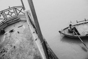 The Boatman by siddhartha19