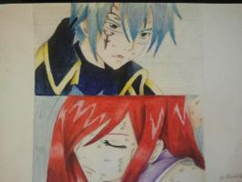 Erza and Jellal 1 by NecroCity1