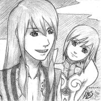Yuri and Estelle by dragonsong17