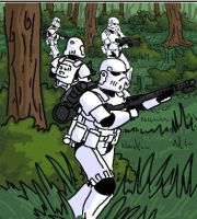 Storm troopers on patrol by DarkCloak
