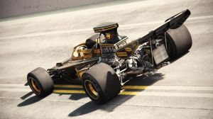 Lotus 72D 2 (Film Series) by Laffonte