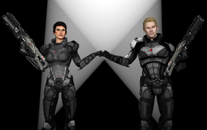 Shepard - Dragon Age Style by OutaDimes