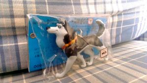Balto Steele Keychain by BlueDreamerr