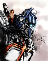 Optimus Colored by kamillyonsiya