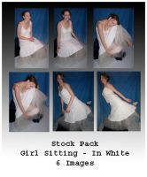 Stock Pack - Girl In White by Gracies-Stock