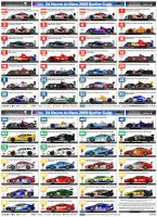 Le Mans 2009 Spotter Guide by andyblackmoredesign