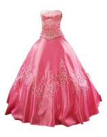 Cinderella Dress png stock by DoloresMinette