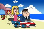 Stan and Francine Double Dash by DJgames