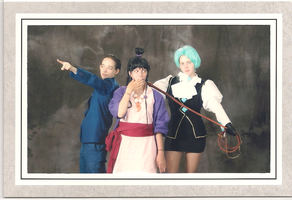 Phoenix Wright Cosplay Group by ChangeofHeart
