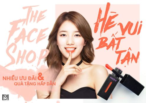 The Face Shop - Summer Time 2017 Banner by duyyuki