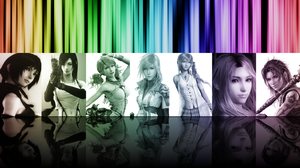 Final Fantasy Girls Wallpaper by Noctella1427
