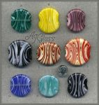 Glass Medallions by AJGlass