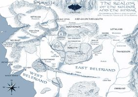Beleriand - Realms by Sirielle