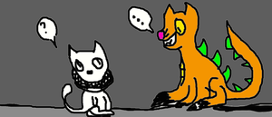 The Judge meets SCP-808-1 by ThedragonsoftheCAT
