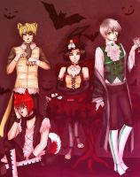 Amour Sucre. Halloween by LeonRin