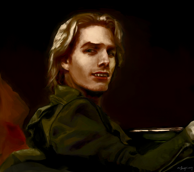 [Photo Study] Tom Cruise as Lestat by sanguinarydandy