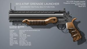M13-ATMF Grenade Launcher by TheSultanSKI