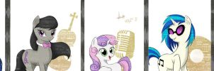 MLP: The background musicians by razamatzu
