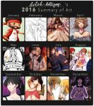 2016 summary of art by Ailish-Lollipop