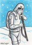 snow trooper by mikeorion22