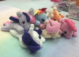 Pocket Ponies - Mini Bean Plushies by NerdyMind