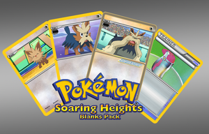 Pokemon Soaring Heights Blank Package by Xintetsu