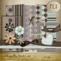 Scrapbook Kit - Fresh by shelldevil