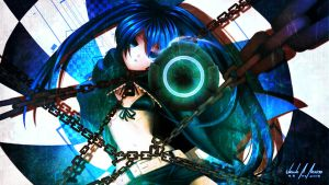 Black Rock Shooter by SuraNekoChan