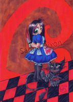 Chibi Alice by Sahan