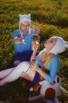 AT - Finn and Fionna - Bubles by MilliganVick