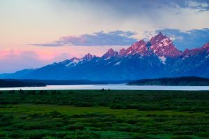 Sunrise from Teton Lodge by mikewheels