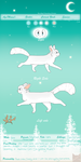 Snowclan reference sheet! by Sowott