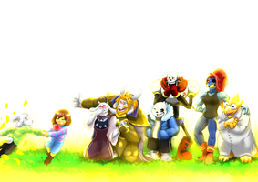 Undertale - Reunion by WarGreymon43